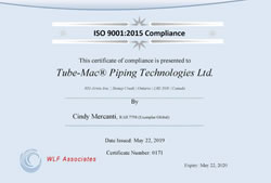iso certificate 2008 2015 thm